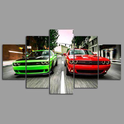 YSDAFEN kn - 286 Modern Canvas Framed Cars PrintsPrints<br>YSDAFEN kn - 286 Modern Canvas Framed Cars Prints<br><br>Brand: YSDAFEN<br>Craft: Print<br>Form: Five Panels<br>Material: Canvas<br>Package Contents: 5 x Print<br>Package size (L x W x H): 82.00 x 32.00 x 12.00 cm / 32.28 x 12.6 x 4.72 inches<br>Package weight: 1.5000 kg<br>Painting: Include Inner Frame<br>Product size (L x W x H): 80.00 x 30.00 x 10.00 cm / 31.5 x 11.81 x 3.94 inches<br>Product weight: 1.2000 kg<br>Shape: Horizontal Panoramic<br>Style: Modern<br>Subjects: Others<br>Suitable Space: Living Room
