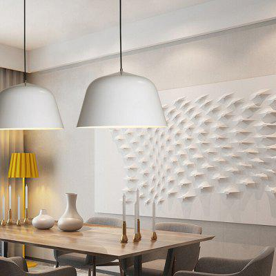 Simple Creative Aluminum LED Pendant Light 220VPendant Light<br>Simple Creative Aluminum LED Pendant Light 220V<br><br>Battery Included: No<br>Bulb Base: E27<br>Bulb Included: No<br>Chain / Cord Length ( CM ): 50<br>Features: Eye Protection, Mini Style<br>Fixture Height ( CM ): 16<br>Fixture Length ( CM ): 25<br>Fixture Width ( CM ): 25<br>Light Direction: Downlight<br>Number of Bulb: 1 Bulb<br>Package Contents: 1 x Light, 1 x Set of Install Accessory<br>Package size (L x W x H): 35.00 x 35.00 x 25.00 cm / 13.78 x 13.78 x 9.84 inches<br>Package weight: 2.5400 kg<br>Product weight: 2.0000 kg<br>Shade Material: Aluminum<br>Style: Modern/Contemporary, Artistic Style<br>Suggested Room Size: 10 - 15?<br>Suggested Space Fit: Bedroom,Study Room<br>Type: Pendant Light<br>Voltage ( V ): 220