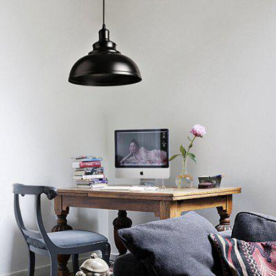 Retro Iron Simple Pot Lid LED Pendant Light 220VPendant Light<br>Retro Iron Simple Pot Lid LED Pendant Light 220V<br><br>Battery Included: No<br>Bulb Base: E27<br>Bulb Included: No<br>Chain / Cord Adjustable or Not: Chain / Cord Adjustable<br>Chain / Cord Length ( CM ): 100cm<br>Dimmable: No<br>Features: Eye Protection<br>Fixture Height ( CM ): 21cm<br>Fixture Length ( CM ): 29<br>Fixture Width ( CM ): 29cm<br>Light Direction: Downlight<br>Number of Bulb: 1 Bulb<br>Package Contents: 1 x Pendant Light, 1 x Pendant line, 1 x Sucker<br>Package size (L x W x H): 39.00 x 39.00 x 30.00 cm / 15.35 x 15.35 x 11.81 inches<br>Package weight: 3.5500 kg<br>Product weight: 3.0000 kg<br>Remote Control Supported: No<br>Shade Material: Iron<br>Style: Modern/Contemporary<br>Suggested Room Size: 5 - 10?<br>Suggested Space Fit: Bedroom,Dining Room,Living Room<br>Type: Pendant Light<br>Voltage ( V ): AC220