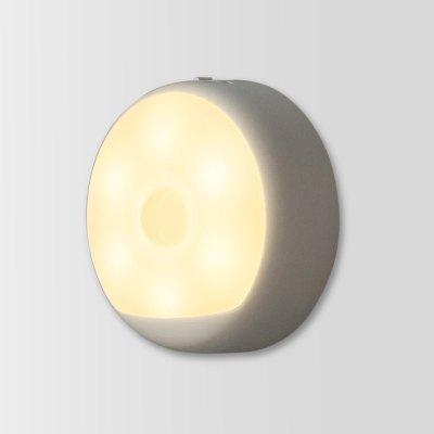 Gearbest Yeelight USB Powered Small Night Light  -  WARM WHITE LIGHT