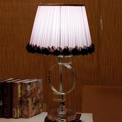 European Style Simple Fabric Table Light Bedside Lamp 220VTable Lamps<br>European Style Simple Fabric Table Light Bedside Lamp 220V<br><br>Available Color: Pink<br>Bulb Base Type: E27<br>Package Contents: 1 x Bedside Lamp, 1 x Assembly Parts<br>Package size (L x W x H): 48.00 x 48.00 x 70.00 cm / 18.9 x 18.9 x 27.56 inches<br>Package weight: 7.0200 kg<br>Powered Source: AC<br>Product size (L x W x H): 38.00 x 38.00 x 63.00 cm / 14.96 x 14.96 x 24.8 inches<br>Product weight: 6.0000 kg<br>Suitable for: Home Decoration, Home use