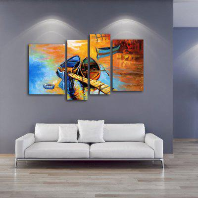 4PCS YHHP Landscape Modern Canvas Oil PaintingOil Paintings<br>4PCS YHHP Landscape Modern Canvas Oil Painting<br><br>Brand: YHHP<br>Craft: Oil Painting<br>Form: Four Panels<br>Material: Canvas<br>Package Contents: 4 x Painting<br>Package size (L x W x H): 92.00 x 72.00 x 15.00 cm / 36.22 x 28.35 x 5.91 inches<br>Package weight: 3.5000 kg<br>Painting: Include Inner Frame<br>Product weight: 2.3000 kg<br>Shape: Horizontal Panoramic<br>Style: Modern<br>Subjects: Landscape<br>Suitable Space: Bedroom,Dining Room,Hotel,Living Room