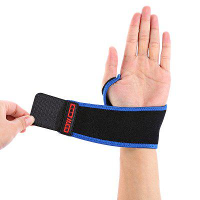 MLD LF - 1107 Sports Wrist SupportSports Protective Gear<br>MLD LF - 1107 Sports Wrist Support<br><br>Brand: MLD<br>Color: Black<br>Material: Cotton, Foam Rubber<br>Package Content: 1 x MLD LF - 1107 Wrist Support<br>Package size: 26.00 x 16.00 x 1.00 cm / 10.24 x 6.3 x 0.39 inches<br>Package weight: 0.0700 kg<br>Product size: 35.00 x 8.00 x 0.50 cm / 13.78 x 3.15 x 0.2 inches<br>Product weight: 0.0250 kg<br>Target User: Unisex<br>Type: Wrist Support
