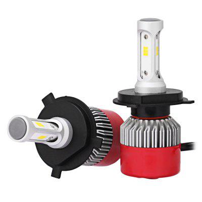 2pcs RS2 H4 CSP LED COB LED Car Headlight BulbsCar Lights<br>2pcs RS2 H4 CSP LED COB LED Car Headlight Bulbs<br><br>Adaptable automobile mode: Universal<br>Connector: H4<br>Lumens: 7200LM / set ( 3600LM / bulb )<br>Package Contents: 2 x LED Headlight<br>Package size (L x W x H): 18.00 x 12.00 x 5.00 cm / 7.09 x 4.72 x 1.97 inches<br>Package weight: 0.2720 kg<br>Product size (L x W x H): 9.50 x 3.30 x 1.30 cm / 3.74 x 1.3 x 0.51 inches<br>Product weight: 0.1270 kg