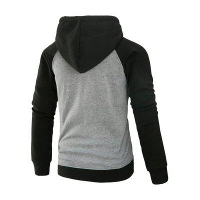 Joint Fashion Pockets Zipper Hoodie for MenMens Hoodies &amp; Sweatshirts<br>Joint Fashion Pockets Zipper Hoodie for Men<br><br>Material: Cotton, Polyester<br>Package Contents: 1 x Hoodie<br>Package size: 40.00 x 30.00 x 4.00 cm / 15.75 x 11.81 x 1.57 inches<br>Package weight: 0.6400 kg<br>Product weight: 0.6000 kg