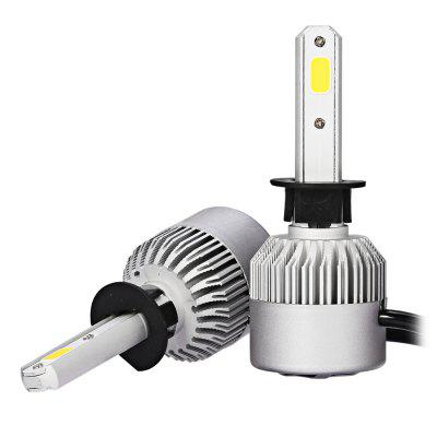 2pcs S2 H1 LED COB White Car Headlight BulbsCar Lights<br>2pcs S2 H1 LED COB White Car Headlight Bulbs<br><br>Adaptable automobile mode: Universal<br>Connector: H1<br>Lumens: 7200LM / set ( 3600LM / bulb )<br>Package Contents: 2 x LED Headlight<br>Package size (L x W x H): 18.00 x 12.00 x 5.00 cm / 7.09 x 4.72 x 1.97 inches<br>Package weight: 0.2720 kg<br>Product size (L x W x H): 8.00 x 3.30 x 1.30 cm / 3.15 x 1.3 x 0.51 inches<br>Product weight: 0.1270 kg