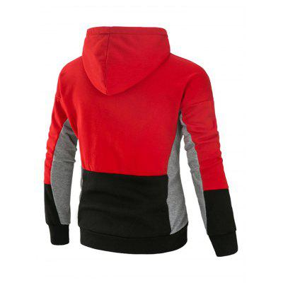 Joint Leisure Long Sleeves Hoodie for MenMens Hoodies &amp; Sweatshirts<br>Joint Leisure Long Sleeves Hoodie for Men<br><br>Material: Cotton, Polyester<br>Package Contents: 1 x Hoodie<br>Package size: 40.00 x 30.00 x 4.00 cm / 15.75 x 11.81 x 1.57 inches<br>Package weight: 0.6400 kg<br>Product weight: 0.6000 kg