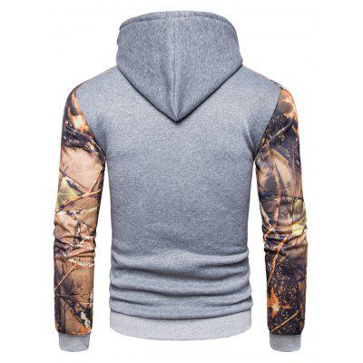 AOWOFS Fashion Long Sleeve Printing Hooded SweatshirtMens Hoodies &amp; Sweatshirts<br>AOWOFS Fashion Long Sleeve Printing Hooded Sweatshirt<br><br>Brand: AOWOFS<br>Material: Cotton, Polyester<br>Package Contents: 1 x Sweatshirt<br>Package size: 30.00 x 35.00 x 2.00 cm / 11.81 x 13.78 x 0.79 inches<br>Package weight: 0.4200 kg<br>Product weight: 0.4000 kg