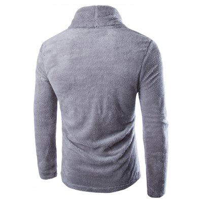 Autumn Winter Pure Color Turtleneck Thicken SweaterMens Sweaters &amp; Cardigans<br>Autumn Winter Pure Color Turtleneck Thicken Sweater<br><br>Material: Polyester<br>Package Contents: 1 x Sweater, 1 x Sweater<br>Package size: 32.00 x 40.00 x 2.00 cm / 12.6 x 15.75 x 0.79 inches<br>Package weight: 0.2400 kg<br>Product weight: 0.2200 kg