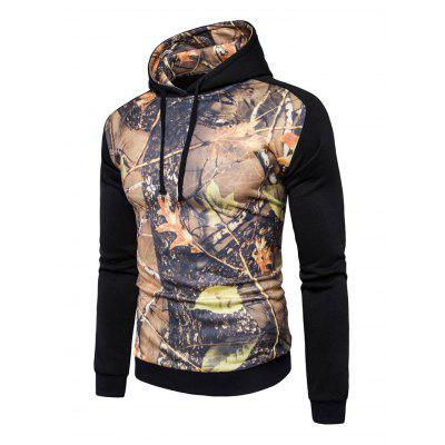 AOWOFS Casual Stylish Printing Hooded SweatshirtMens Hoodies &amp; Sweatshirts<br>AOWOFS Casual Stylish Printing Hooded Sweatshirt<br><br>Brand: AOWOFS<br>Material: Cotton, Polyester<br>Package Contents: 1 x Sweatshirt<br>Package size: 30.00 x 35.00 x 2.00 cm / 11.81 x 13.78 x 0.79 inches<br>Package weight: 0.4200 kg<br>Product weight: 0.4000 kg