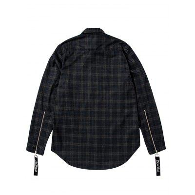 Straight Plaid Pattern Long Sleeves Shirt for MenMens Shirts<br>Straight Plaid Pattern Long Sleeves Shirt for Men<br><br>Material: Cotton, Fiber, Polyester<br>Package Contents: 1 x Shirt<br>Package size: 36.00 x 26.00 x 3.00 cm / 14.17 x 10.24 x 1.18 inches<br>Package weight: 0.6000 kg<br>Product weight: 0.5500 kg