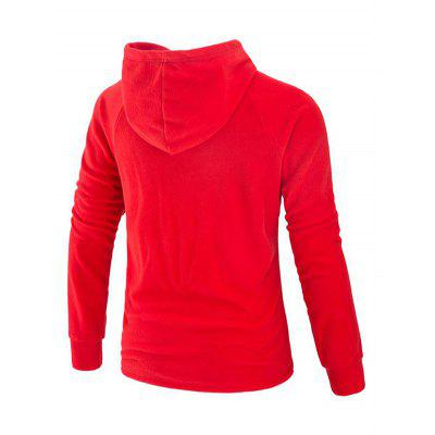 Faddish Pocket Long Sleeves Hoodie for MenMens Hoodies &amp; Sweatshirts<br>Faddish Pocket Long Sleeves Hoodie for Men<br><br>Material: Cotton, Polyester<br>Package Contents: 1 x Hoodie<br>Package size: 40.00 x 30.00 x 4.00 cm / 15.75 x 11.81 x 1.57 inches<br>Package weight: 0.6400 kg<br>Product weight: 0.6000 kg