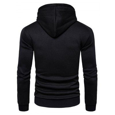 AOWOFS Casual New Long Sleeve Printing Hooded SweatshirtMens Hoodies &amp; Sweatshirts<br>AOWOFS Casual New Long Sleeve Printing Hooded Sweatshirt<br><br>Brand: AOWOFS<br>Material: Cotton, Polyester<br>Package Contents: 1 x Sweatshirt<br>Package size: 30.00 x 35.00 x 2.00 cm / 11.81 x 13.78 x 0.79 inches<br>Package weight: 0.4200 kg<br>Product weight: 0.4000 kg
