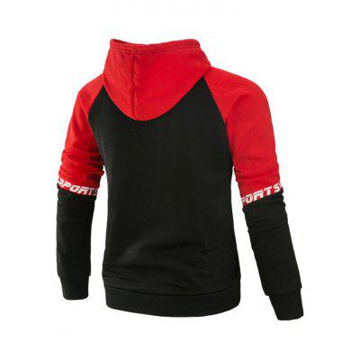 Zipper Joint Fashion Long Sleeves Hoodie for MenMens Hoodies &amp; Sweatshirts<br>Zipper Joint Fashion Long Sleeves Hoodie for Men<br><br>Material: Cotton, Polyester<br>Package Contents: 1 x Hoodie<br>Package size: 40.00 x 30.00 x 4.00 cm / 15.75 x 11.81 x 1.57 inches<br>Package weight: 0.6400 kg<br>Product weight: 0.6000 kg