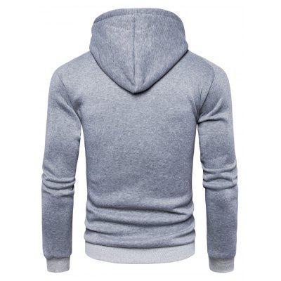 AOWOFS Stylish Long Sleeve Printing Hooded SweatshirtMens Hoodies &amp; Sweatshirts<br>AOWOFS Stylish Long Sleeve Printing Hooded Sweatshirt<br><br>Brand: AOWOFS<br>Material: Cotton, Polyester<br>Package Contents: 1 x Sweatshirt<br>Package size: 30.00 x 35.00 x 2.00 cm / 11.81 x 13.78 x 0.79 inches<br>Package weight: 0.4200 kg<br>Product weight: 0.4000 kg