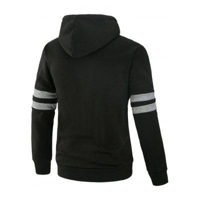 Fashion Leisure Long Sleeves Hoodie for MenMens Hoodies &amp; Sweatshirts<br>Fashion Leisure Long Sleeves Hoodie for Men<br><br>Material: Cotton, Polyester<br>Package Contents: 1 x Hoodie<br>Package size: 40.00 x 30.00 x 4.00 cm / 15.75 x 11.81 x 1.57 inches<br>Package weight: 0.6400 kg<br>Product weight: 0.6000 kg