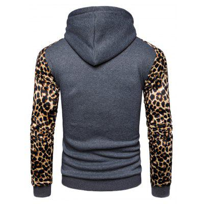 AOWOFS Fashion Leopard Printing Male Hooded SweatshirtMens Hoodies &amp; Sweatshirts<br>AOWOFS Fashion Leopard Printing Male Hooded Sweatshirt<br><br>Brand: AOWOFS<br>Material: Cotton, Polyester<br>Package Contents: 1 x Sweatshirt<br>Package size: 30.00 x 35.00 x 2.00 cm / 11.81 x 13.78 x 0.79 inches<br>Package weight: 0.4200 kg<br>Product weight: 0.4000 kg