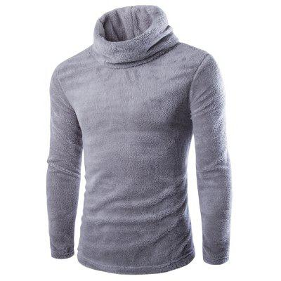 Herbst Winter Pure Farbe Turtleneck Thicken Pullover