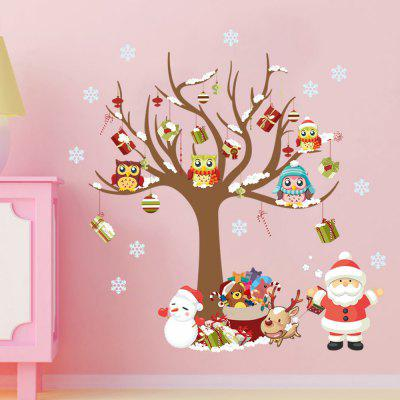 MCYH Christmas Tree Pattern Glass Window Decor StickerWall Stickers<br>MCYH Christmas Tree Pattern Glass Window Decor Sticker<br><br>Brand: MCYH<br>Function: Decorative Wall Sticker<br>Material: Vinyl(PVC), Self-adhesive Plastic<br>Package Contents: 1 x Sticker<br>Package size (L x W x H): 30.00 x 6.00 x 6.00 cm / 11.81 x 2.36 x 2.36 inches<br>Package weight: 0.1200 kg<br>Product size (L x W x H): 28.00 x 38.00 x 28.00 cm / 11.02 x 14.96 x 11.02 inches<br>Product weight: 0.1000 kg<br>Quantity: 1<br>Subjects: Christmas<br>Suitable Space: Bedroom,Cafes,Kids Room,Kitchen,Living Room<br>Type: Plane Wall Sticker