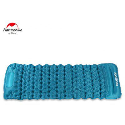 NatureHike Portable Inflating Cushion Sleeping Pad with Pillow