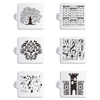 AK Kitchenware Cute 8pcs / Set Cake Cookies Stencil