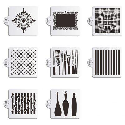 AK Kitchenware 8pcs / Set Cake Cookies Stencil