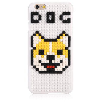 Dog DIY Jigsaw Building Block Phone Case for iPhone 6 / 6s
