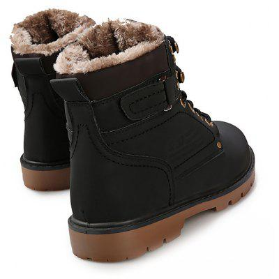 Male Sylish Warm Plush Outdoor Martin BootsMens Boots<br>Male Sylish Warm Plush Outdoor Martin Boots<br><br>Closure Type: Lace-Up<br>Contents: 1 x Pair of Shoes<br>Function: Slip Resistant<br>Lining Material: Plush<br>Materials: PU, Rubber, Plush<br>Occasion: Tea Party, Shopping, Party, Office, Holiday, Daily, Casual, Outdoor Clothing<br>Outsole Material: Rubber<br>Package Size ( L x W x H ): 31.00 x 21.00 x 11.00 cm / 12.2 x 8.27 x 4.33 inches<br>Pattern Type: Solid<br>Seasons: Autumn,Spring,Winter<br>Style: Modern, Leisure, Fashion, Comfortable, Casual<br>Toe Shape: Round Toe<br>Type: Boots<br>Upper Material: PU