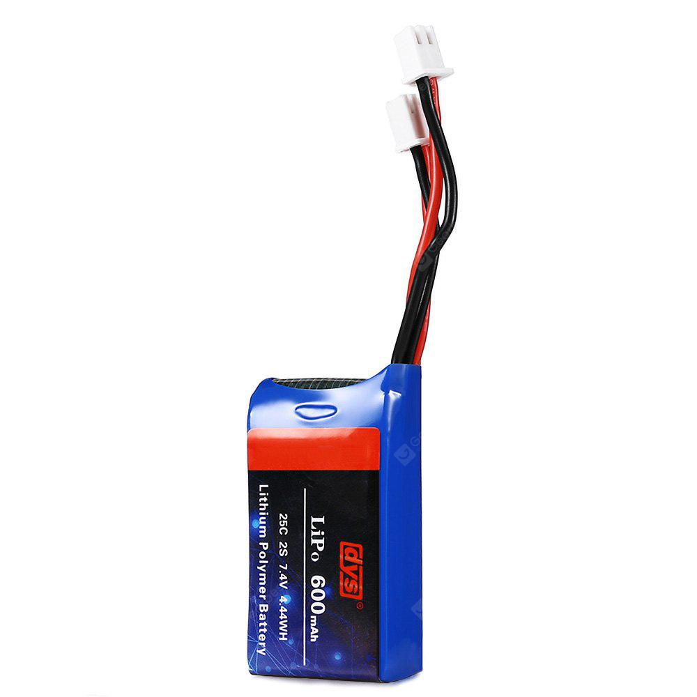 Original dys 600mAh 7.4V 2S 25C LiPo Battery
