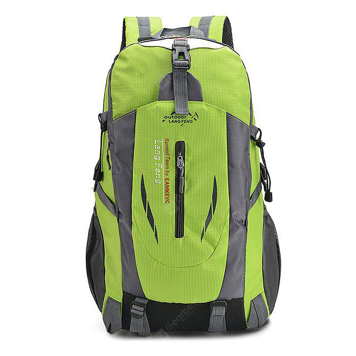 Buy Men Outdoor Multifunctional Nylon Backpack GREEN