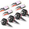 EMAX RS2205 - S 2300KV Brushless Motor ESC Combo - COLORMIX