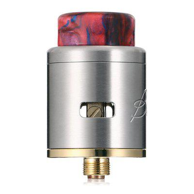 Original E-bossvape Blizz RDAOther Atomizers<br>Original E-bossvape Blizz RDA<br><br>Brand: E-bossvape<br>Material: Stainless Steel<br>Model: Blizz<br>Overall Diameter: 24mm<br>Package Contents: 1 x Atomizer, 1 x Accessory Bag<br>Package size (L x W x H): 7.40 x 5.30 x 4.20 cm / 2.91 x 2.09 x 1.65 inches<br>Package weight: 0.0850 kg<br>Product size (L x W x H): 3.80 x 2.40 x 2.40 cm / 1.5 x 0.94 x 0.94 inches<br>Product weight: 0.0460 kg<br>Rebuildable Atomizer: RBA,RDA<br>Thread: 510<br>Type: Rebuildable Drippers, Rebuildable Atomizer