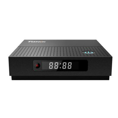 Tanix TX92 TV BoxTV Box<br>Tanix TX92 TV Box<br><br>Antenna: No<br>Audio format: WMA, WAV, MP3, OGG<br>Bluetooth: Bluetooth 4.1<br>Camera: Without<br>Core: Octa Core, 2.0GHz<br>CPU: Cortex A53<br>Decoder Format: HD MPEG4, H.265, H.264, H.263<br>DVD Support: Yes<br>External Subtitle Supported: Yes<br>GPU: ARM Mali-T820MP3<br>HDMI Function: CEC<br>HDMI Version: 2.0<br>Interface: TF card, USB2.0, SPDIF, HDMI, Ethernet, DC Power Port<br>Language: English,French,Germany,Italian,Japanese,Multi-language,Spanish<br>Max. Extended Capacity: 128G<br>Model: TX92<br>Other Functions: DLNA, Miracast, NTSC, PAL<br>Package Contents: 1 x TV Box, 1 x Power Adapter<br>Package size (L x W x H): 15.60 x 13.50 x 8.00 cm / 6.14 x 5.31 x 3.15 inches<br>Package weight: 0.5000 kg<br>Photo Format: BMP, GIF, JPEG, PNG, TIFF<br>Power Supply: Charge Adapter<br>Power Type: External Power Adapter Mode<br>Processor: Amlogic S912<br>Product size (L x W x H): 10.30 x 10.30 x 2.50 cm / 4.06 x 4.06 x 0.98 inches<br>Product weight: 0.1680 kg<br>RAM: 3G RAM<br>RAM Type: DDR4<br>RJ45 Port Speed: 1000M<br>ROM: 64G ROM<br>Support 5.1 Surround Sound Output: Yes<br>System: Android 7.1<br>System Bit: 64Bit<br>Type: TV Box<br>Video format: MKV, PMP, VOB, VC-1, RMVB, RM, MPEG4, M4V, H.265, H.264, MP4, AVI, 4K, MPEG2, DIVX<br>WiFi Chip: QCA9377
