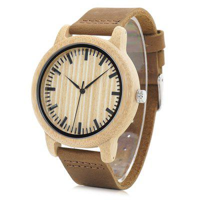 BOBO BIRD A20 Genuine Leather Band Men Quartz WatchMens Watches<br>BOBO BIRD A20 Genuine Leather Band Men Quartz Watch<br><br>Band material: Genuine Leather<br>Band size: 22.5 x 2cm<br>Brand: BOBO BIRD<br>Case material: Wood<br>Clasp type: Pin buckle<br>Dial size: 4.4 x 4.4 x 1.2cm<br>Display type: Analog<br>Movement type: Quartz watch<br>Package Contents: 1 x Watch, 1 x Box<br>Package size (L x W x H): 8.50 x 8.50 x 5.50 cm / 3.35 x 3.35 x 2.17 inches<br>Package weight: 0.0960 kg<br>Product size (L x W x H): 22.50 x 4.40 x 1.20 cm / 8.86 x 1.73 x 0.47 inches<br>Product weight: 0.0260 kg<br>Shape of the dial: Round<br>Watch mirror: Acrylic<br>Watch style: Casual, Fashion<br>Watches categories: Men