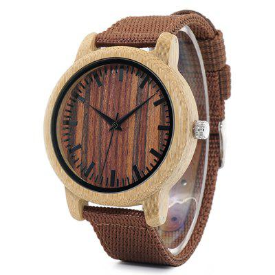 BOBO BIRD D10 Nylon Band Men Quartz WatchMens Watches<br>BOBO BIRD D10 Nylon Band Men Quartz Watch<br><br>Band material: Nylon<br>Band size: 23.8 x 2cm<br>Brand: BOBO BIRD<br>Case material: Bamboo<br>Clasp type: Pin buckle<br>Dial size: 4.4 x 4.4 x 1.15cm<br>Display type: Analog<br>Movement type: Quartz watch<br>Package Contents: 1 x Watch, 1 x Box<br>Package size (L x W x H): 8.50 x 8.50 x 5.50 cm / 3.35 x 3.35 x 2.17 inches<br>Package weight: 0.0950 kg<br>Product size (L x W x H): 23.80 x 4.40 x 1.15 cm / 9.37 x 1.73 x 0.45 inches<br>Product weight: 0.0250 kg<br>Shape of the dial: Round<br>Watch mirror: Acrylic<br>Watch style: Casual, Fashion<br>Watches categories: Men
