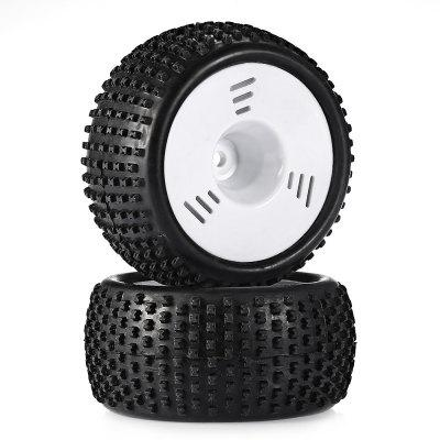 ZD Racing 6114 Rubber Tire 2pcs / set for 1:16 RC Truck