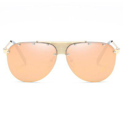 SENLAN 7703 Fashion All-match Metal Rims Neutral SunglassesStylish Sunglasses<br>SENLAN 7703 Fashion All-match Metal Rims Neutral Sunglasses<br><br>Brand: SENLAN<br>Frame material: Metal<br>Functions: Windproof, UV Protection, Fashion, Dustproof<br>Gender: For Unisex<br>Lens material: PC<br>Package Contents: 1 x Sunglasses<br>Package size (L x W x H): 15.50 x 6.50 x 4.50 cm / 6.1 x 2.56 x 1.77 inches<br>Package weight: 0.1340 kg<br>Product weight: 0.0340 kg
