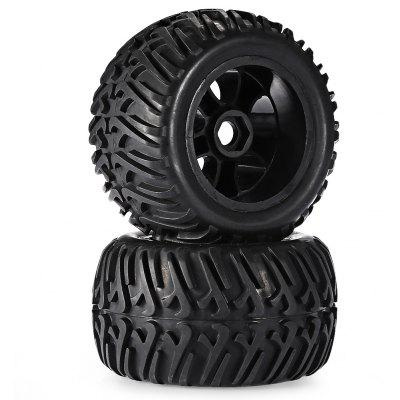 ZD Racing 8376 Universal Rubber Tire 2pcs / set