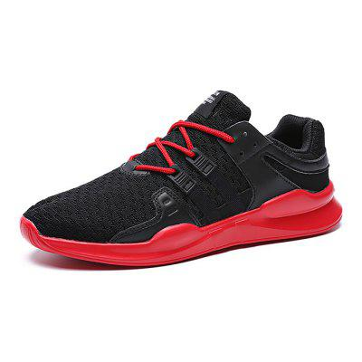 Male Breathable Soft Outdoor Running SneakersAthletic Shoes<br>Male Breathable Soft Outdoor Running Sneakers<br><br>Closure Type: Lace-Up<br>Contents: 1 x Pair of Shoes<br>Decoration: Weave<br>Materials: Woven Fabric, PU<br>Occasion: Sports, Outdoor Clothing, Holiday, Daily, Casual, Running<br>Outsole Material: PU<br>Package Size ( L x W x H ): 30.00 x 20.00 x 11.00 cm / 11.81 x 7.87 x 4.33 inches<br>Package Weights: 0.66kg<br>Pattern Type: Solid<br>Seasons: Autumn,Spring<br>Style: Modern, Leisure, Fashion, Comfortable, Casual<br>Toe Shape: Round Toe<br>Type: Sports Shoes<br>Upper Material: Woven Fabric