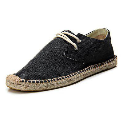 Male Comfortable Soft Canvas Casual ShoesCasual Shoes<br>Male Comfortable Soft Canvas Casual Shoes<br><br>Closure Type: Lace-Up<br>Contents: 1 x Pair of Shoes<br>Function: Slip Resistant<br>Materials: TPR, Canvas<br>Occasion: Tea Party, Shopping, Outdoor Clothing, Holiday, Daily, Casual, Party<br>Outsole Material: TPR<br>Package Size ( L x W x H ): 25.00 x 18.00 x 11.00 cm / 9.84 x 7.09 x 4.33 inches<br>Package Weights: 0.79kg<br>Pattern Type: Solid<br>Seasons: Autumn,Spring,Summer<br>Style: Modern, Leisure, Fashion, Comfortable, Casual<br>Toe Shape: Round Toe<br>Type: Casual Shoes<br>Upper Material: Canvas