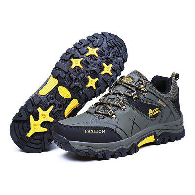 Male Soft Wearable Anti Slip Outdoor Hiking SneakersMen's Sneakers<br>Male Soft Wearable Anti Slip Outdoor Hiking Sneakers<br><br>Closure Type: Lace-Up<br>Contents: 1 x Pair of Shoes<br>Function: Slip Resistant<br>Materials: Rubber, PU<br>Occasion: Sports, Shopping, Riding, Outdoor Clothing, Running, Casual, Daily, Holiday<br>Outsole Material: Rubber<br>Package Size ( L x W x H ): 33.00 x 23.00 x 16.00 cm / 12.99 x 9.06 x 6.3 inches<br>Package Weights: 1.18kg<br>Pattern Type: Letter<br>Seasons: Autumn,Spring<br>Style: Modern, Leisure, Fashion, Comfortable, Casual<br>Toe Shape: Round Toe<br>Type: Hiking Shoes<br>Upper Material: PU