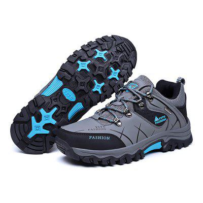 Male Soft Wearable Anti Slip Outdoor Hiking SneakersAthletic Shoes<br>Male Soft Wearable Anti Slip Outdoor Hiking Sneakers<br><br>Closure Type: Lace-Up<br>Contents: 1 x Pair of Shoes<br>Function: Slip Resistant<br>Materials: Rubber, PU<br>Occasion: Sports, Shopping, Riding, Outdoor Clothing, Running, Casual, Daily, Holiday<br>Outsole Material: Rubber<br>Package Size ( L x W x H ): 33.00 x 23.00 x 16.00 cm / 12.99 x 9.06 x 6.3 inches<br>Package Weights: 1.18kg<br>Pattern Type: Letter<br>Seasons: Autumn,Spring<br>Style: Modern, Leisure, Fashion, Comfortable, Casual<br>Toe Shape: Round Toe<br>Type: Hiking Shoes<br>Upper Material: PU