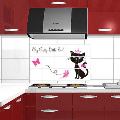 DSU Cat Mural Decal Home Decor Wall StickerWall Stickers<br>DSU Cat Mural Decal Home Decor Wall Sticker<br><br>Brand: DSU<br>Function: Decorative Wall Sticker<br>Material: Vinyl(PVC)<br>Package Contents: 1 x Wall Sticker<br>Package size (L x W x H): 45.00 x 5.00 x 5.00 cm / 17.72 x 1.97 x 1.97 inches<br>Package weight: 0.1000 kg<br>Product size (L x W x H): 75.00 x 45.00 x 0.10 cm / 29.53 x 17.72 x 0.04 inches<br>Product weight: 0.0500 kg<br>Quantity: 1<br>Subjects: Fashion<br>Suitable Space: Kitchen<br>Type: Plane Wall Sticker