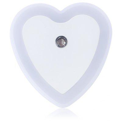 Heat Shape Light Sensor LED Night Light Lamp AC 110 - 220V