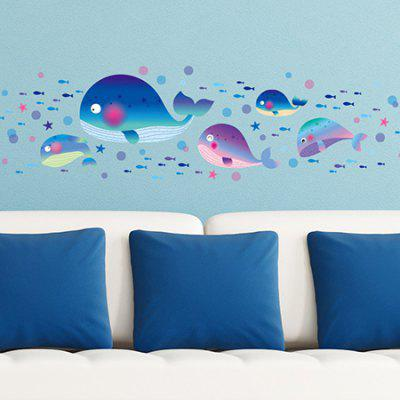 DSU 3041 Waterproof Shark Wall Sticker