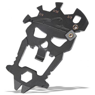 Skull Shape Multifunctional EDC Tool Bottle Opener / Wrench