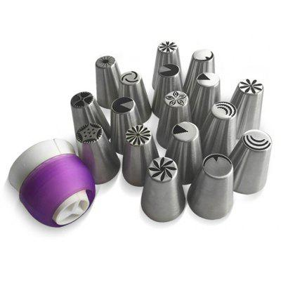 AK Icing Piping Nozzles and Coupler Cake Decorating Tool