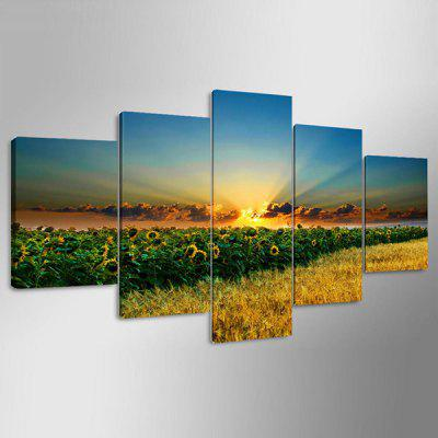 YSDAFEN kn - 258 Modern Canvas Unframed Sunflowers Prints