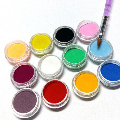 DIY Nail Art Set Decorative Sculpture Powder