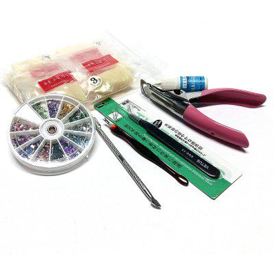 Combo Set False Nails DIY Nail Art Decoration Tools